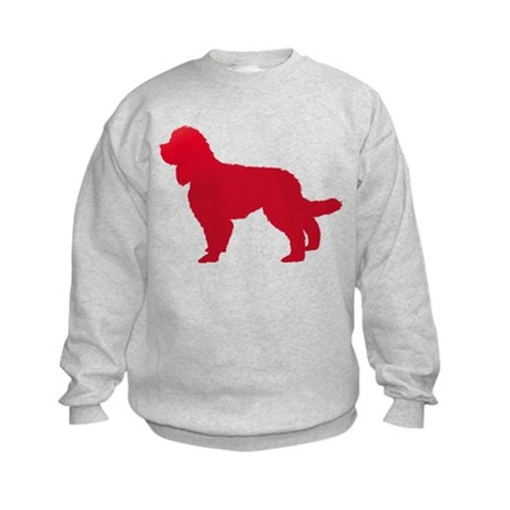 Barbet (French Water Dog) Kids Sweatshirt
