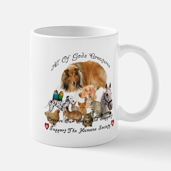 Humane Society Animal Support Mug