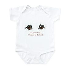 Samoyed Eyes Infant Bodysuit