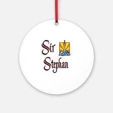 Sir Stephan Ornament (Round)