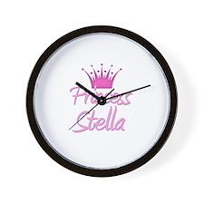 Princess Stella Wall Clock