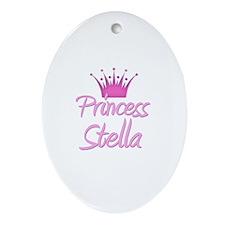 Princess Stella Oval Ornament