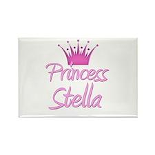 Princess Stella Rectangle Magnet