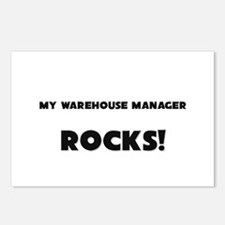 MY Warehouse Manager ROCKS! Postcards (Package of