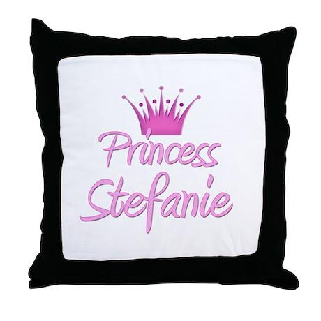 Princess Stefanie Throw Pillow