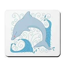 Dolphin Daze Mousepad