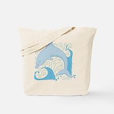Dolphin Daze Tote Bag