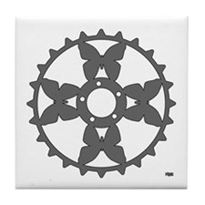Papillon Chainring rhp3 Tile Coaster