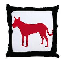 Carolina Dog Throw Pillow