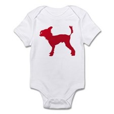 Chinese Crested Dog Infant Bodysuit