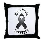 Melanoma Survivor Throw Pillow