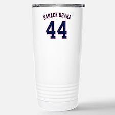 Barack Obama President 44 Travel Mug