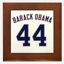 Barack Obama President 44 Framed Tile