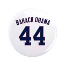 "Barack Obama President 44 3.5"" Button"