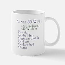 Lvl 80 Wife Mug