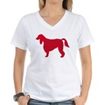 Irish Setter Women's V-Neck T-Shirt