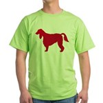 Irish Setter Green T-Shirt