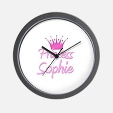 Princess Sophie Wall Clock