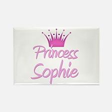 Princess Sophie Rectangle Magnet