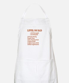 Level 80 Dad BBQ Apron