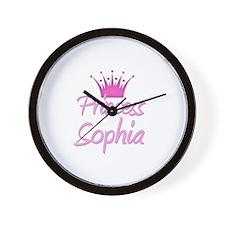 Princess Sophia Wall Clock