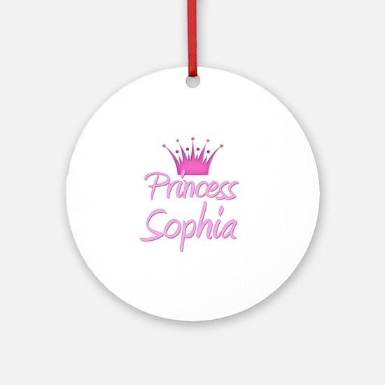 Princess Sophia Ornament (Round)