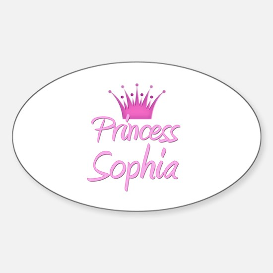 Princess Sophia Oval Decal