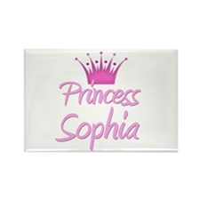 Princess Sophia Rectangle Magnet