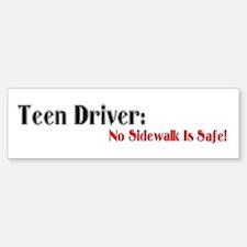 Teen Driver Bumper Bumper Bumper Sticker