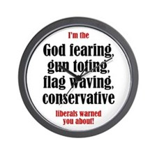 Conservative List Wall Clock