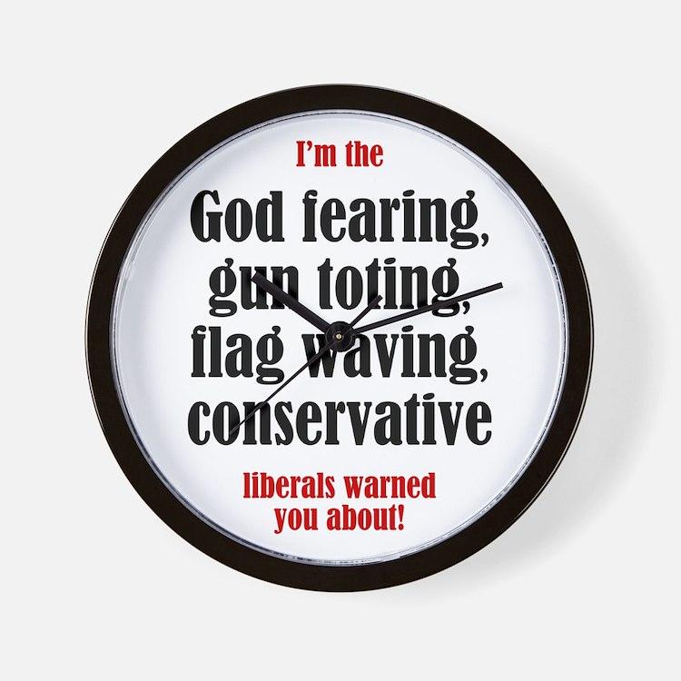 Conservative List Wall Clock