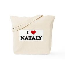 I Love NATALY Tote Bag