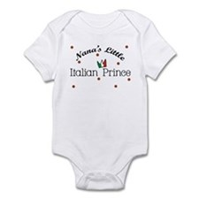 Nana's Little Italian Prince Baby Infant Bodysuit