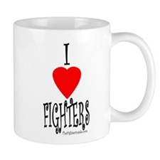 I Love Fighters Mug