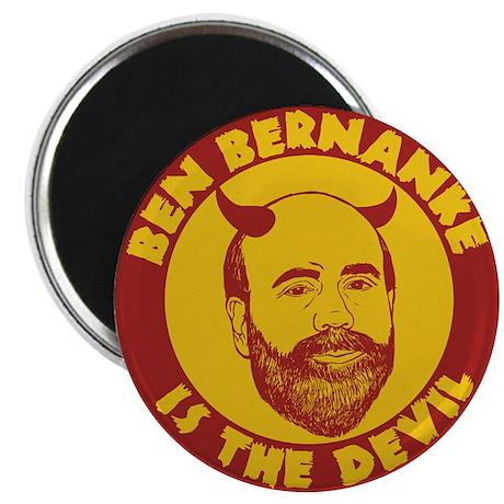 Ben Bernanke is the Devil Magnet