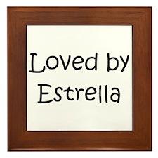 Unique Estrella Framed Tile