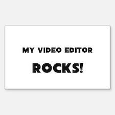 MY Video Editor ROCKS! Rectangle Decal