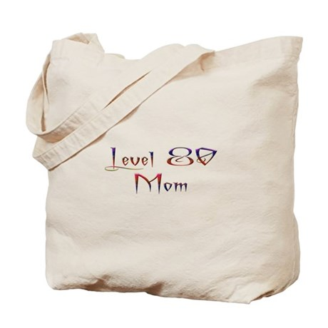 80 Mom Plain Tote Bag