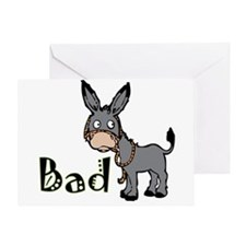 Bad Ass T-Shirts, Gifts & App Greeting Card