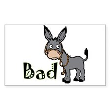Bad Ass T-Shirts, Gifts & App Rectangle Decal