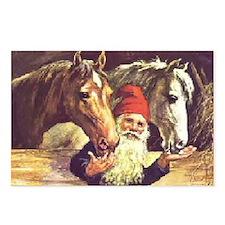 Unique Glaedelig jul Postcards (Package of 8)