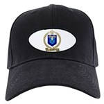 PAQUET Family Crest Black Cap