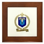 PAQUET Family Crest Framed Tile