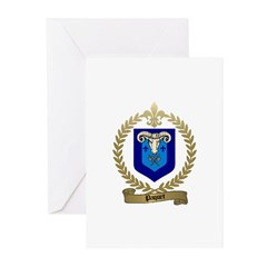 PAQUET Family Crest Greeting Cards (Pk of 10)