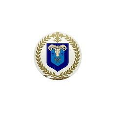 PAQUET Family Crest Mini Button