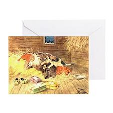 Funny Glaedelig jul Greeting Cards (Pk of 10)