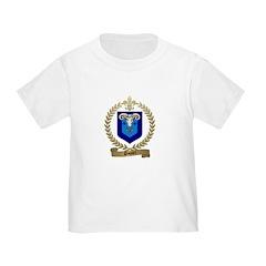 PAQUET Family Crest Toddler T-Shirt