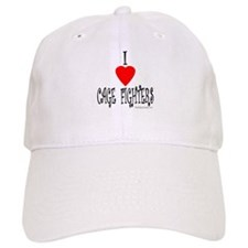 I Love Cage Fighters Baseball Cap