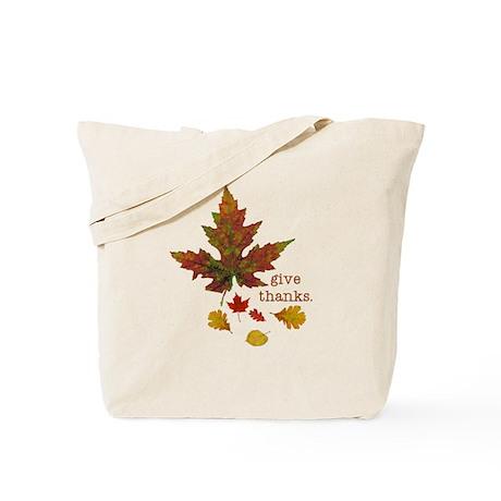 Pretty Thanksgiving Tote Bag