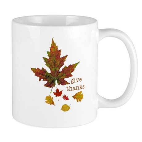 Pretty Thanksgiving Mug